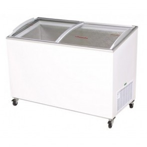 Bromic 350L Chest Freezer with Curved Sliding Glass Lids CF0400ATCG