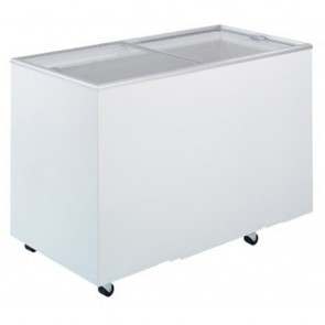 Bromic 401L Durable PVC Chest Freezer with Sliding Glass Lids CF0400FTFG