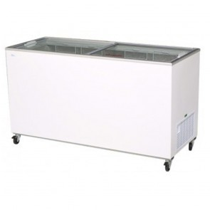 Bromic 491L Durable PVC Chest Freezer with Sliding Glass Lids CF0500FTFG