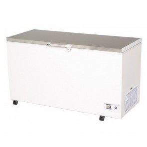 Bromic 492L Durable PVC Chest Freezer with Stainless Steel Lift-Up Lid CF0500FTSS