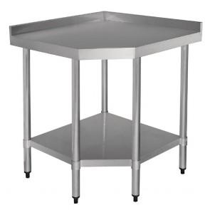 CB907 Vogue Stainless Steel Corner Unit - (800x800)x600x900mm