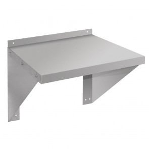 CB912 Vogue Microwave Wall Shelf Stainless Steel - 560x560x490mm