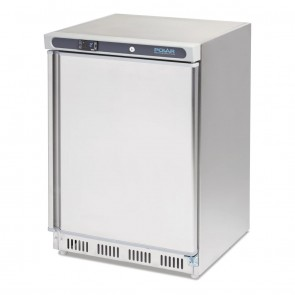 CD081-A Polar C-Series Stainless Steel Under Counter Freezer 140 Litre