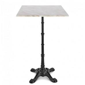 Celestine Bar Height Table Classic Black Cast Iron Base