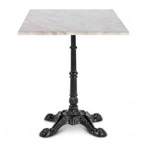 Celestine Dining Table Classic Black Cast Iron Base