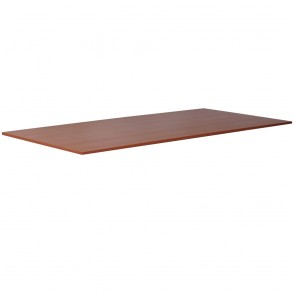 Cherry Straight Office Desk Table Top