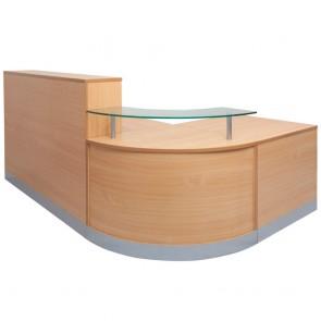 Classic Corner Reception Counter