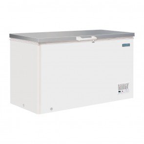 Polar G-Series Chest Freezer with Stainless Steel Lid 385 Litre