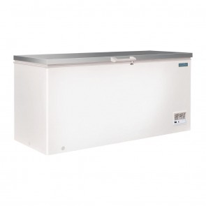 Polar G-Series Chest Freezer with Stainless Steel Lid 516 Litre