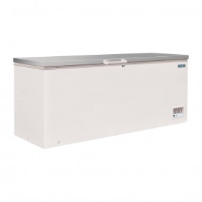 CM532-A Polar G-Series Chest Freezer with Stainless Steel Lid 587 Litre