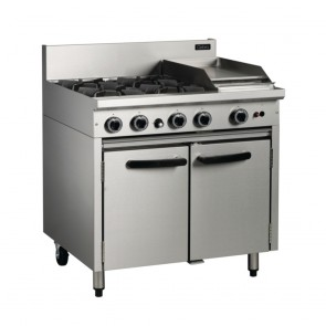 Cobra by Moffat Natural Gas Range Static Oven BR9C