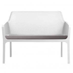 Contemporary Outdoor 2 Seater Lounge with Cushion