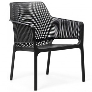 Contemporary Plastic Low Chair