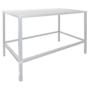 Contemporary Rectangular Outdoor Bar Table