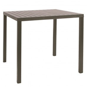 Contemporary Square Outdoor Dining Table