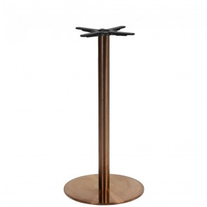 Copper Bar Table Base Round