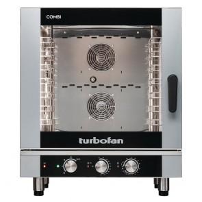 CR258 Turbofan Electric Combi Oven Full Size 7-Tray Manual Controls