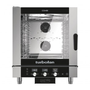 CR643 Turbofan Electric Combi Oven Full Size 7Tray Digital / Electric Combi Oven