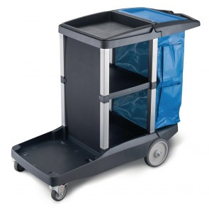 CS632 Oates Platinum Janitors Cart - 595(W)x430(D)x950(H)mm