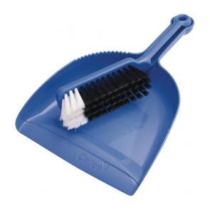 CT722 Oates Dustpan & Bannister Set Blue