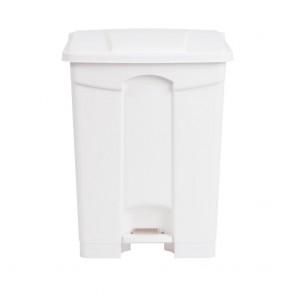 DC711 Jantex Kitchen Pedal Bin White - 65 Litre