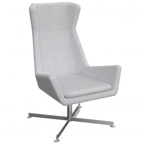 Deanna Accent Chair with Chrome Base