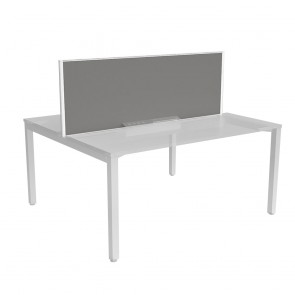 Desk Mounted Privacy Screen for Office Workstations