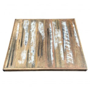 Distressed Recycled Timber Table Top