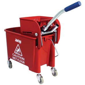 DL912 Jantex Red Bucket & Wringer - 20 Litre
