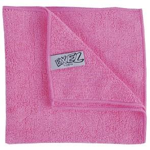 DN840 Jantex Mircofibre Cloths Pink (Pack 5)