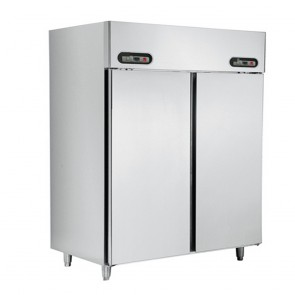 Austune Dual Temp 2 Door Stainless Steel Food Service KDUS2-950L