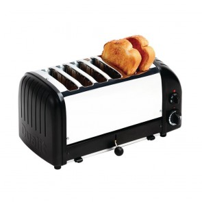 Dualit Bread Toaster 6 Slice Matt Black