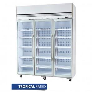 DW949 Skope Top Mount Single Door Upright Premium Freezer Black 610 Litre