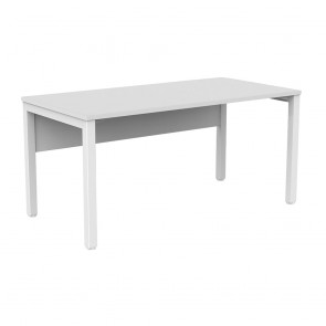 Enterprise Office Desk with Modesty Panel White Frame