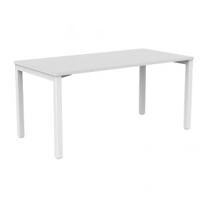Enterprise Straight Office Desk White Frame