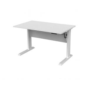 Enterprise Electric Height Adjustable Office Desk White Frame
