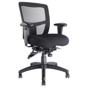 Ergonomic Mesh Back Office Chair with Arm Rests
