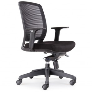 Ergonomic Mesh Back Office Chair with Armrests