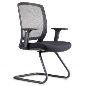 Ergonomic Mesh Back Visitor Chair with Arms