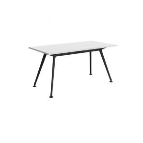 Infinity Rectangular Meeting Table Black Legs
