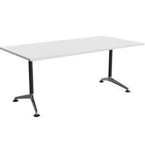 Moda Office Meeting Table Chrome Legs