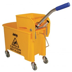 F951 Yellow Mop Wringer & Bucket - 20 Litre