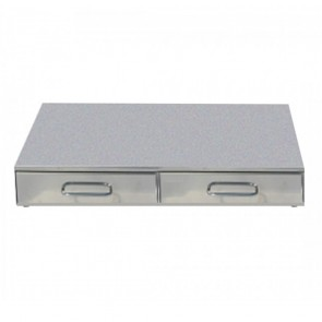 F.E.D Bezzera Double Drawer Knock Box CA0700C2