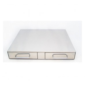F.E.D Bezzera Double Drawer Knock Box CC0480C2-1