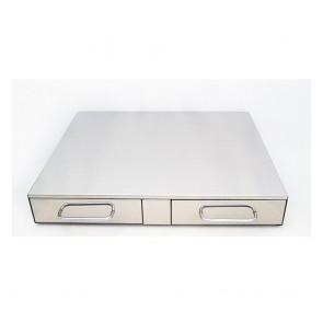 F.E.D Bezzera Double Drawer Knock Box CC0480C2-1