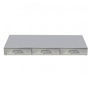 F.E.D Bezzera Tripleble Drawer Knock Box CA01200C3M