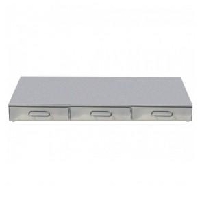 F.E.D Bezzera Tripleble Drawer Knock Box CA01200C3M