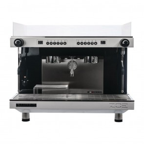 FA523 SanRemo ZOE Competition Coffee Machine 2 group Tall - White Frame