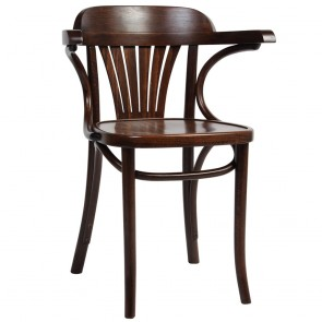 Fan Back Bentwood Arm Chair B-165