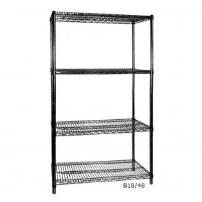 F.E.D B18/36 Four Tier Shelving - 457 mm deep x 1880 high